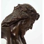 Jean-Baptiste Auguste Clesinger, busto di Gesù in bronzo fra-16