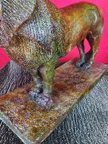 After Rembrandt Bugatti (1884-1916) Nubian Lion in Bronze-10