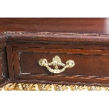 Antique Mahogany and Gilt Serving Table Sideboard 19th C-10