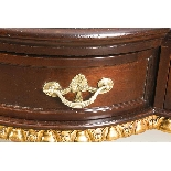 Antique Mahogany and Gilt Serving Table Sideboard 19th C-9