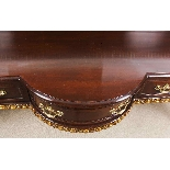 Antique Mahogany and Gilt Serving Table Sideboard 19th C-3