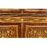 Antique Edwardian Inlaid Display Cabinet, Edwards & Roberts-6