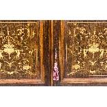 Antique Edwardian Inlaid Display Cabinet, Edwards & Roberts-7