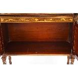 Antique Edwardian Inlaid Display Cabinet, Edwards & Roberts-10