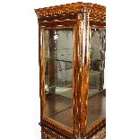 Antique Edwardian Inlaid Display Cabinet, Edwards & Roberts-14