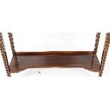 Antique Edwardian Inlaid Display Cabinet, Edwards & Roberts-11