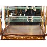 Antique Edwardian Inlaid Display Cabinet, Edwards & Roberts-9
