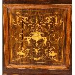 Antique Edwardian Inlaid Display Cabinet, Edwards & Roberts-4