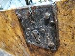 Leonese chest in solid walnut burl 17th century-1