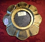 Beautiful plate with semiprecious stones, Souvenir of the