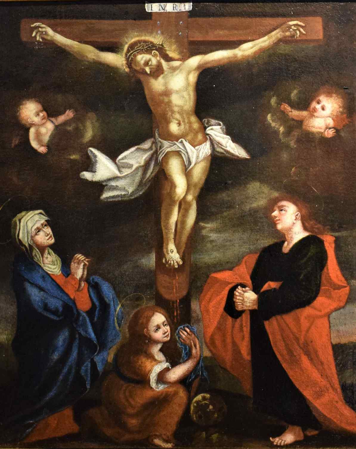 The Crucifixion of Christ at the end of the 16th century