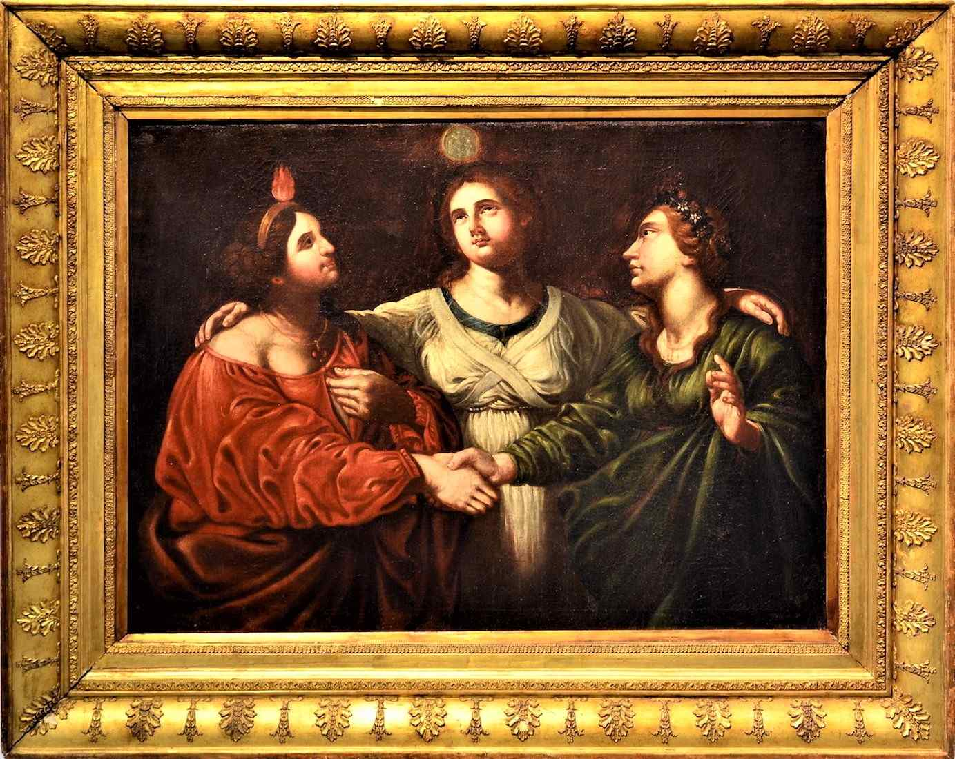 Le Tre  Virtù Teologali - Antiveduto Gramatica