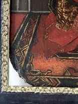 Madonna col Bambino XVI seguace di Roger Van der Weyden-8