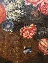 Still life with flowers. French School. The end XVII century-8