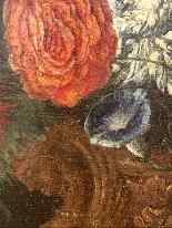 Still life with flowers. French School. The end XVII century-11