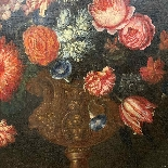 Still life with flowers. French School. The end XVII century-5