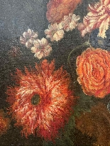 Still life with flowers. French School. The end XVII century-6