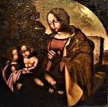 Madonna and Child with San Giovannino-1