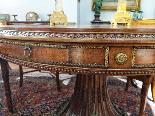 Italian Dining Table Mahogany And Bronze 19th Century-3