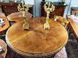 Italian Dining Table Mahogany And Bronze 19th Century-5