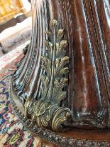 Italian Dining Table Mahogany And Bronze 19th Century-7