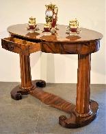 Biedermeier coffee table / desk by Josef Danhauser-3