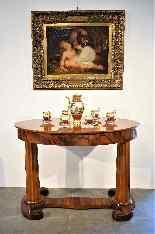 Biedermeier coffee table / desk by Josef Danhauser-8