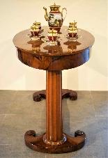 Biedermeier coffee table / desk by Josef Danhauser-2