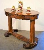 Biedermeier coffee table / desk by Josef Danhauser-1