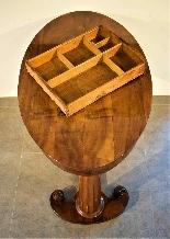Biedermeier coffee table / desk by Josef Danhauser-5