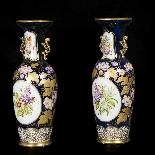 Paire de vases en porcelaine, XIXe-1