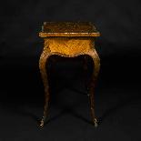 Tavolino da lavoro intarsiato e antico-6