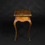 Tavolino da lavoro intarsiato e antico-4