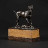 Scultura in bronzo, cane del XIX secolo-1