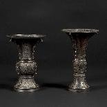 Paire de vases décoratifs, Japon, XIXe-4
