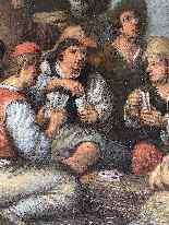 Jan Havicksz Steen (1626-1679) Les Joeurs-11