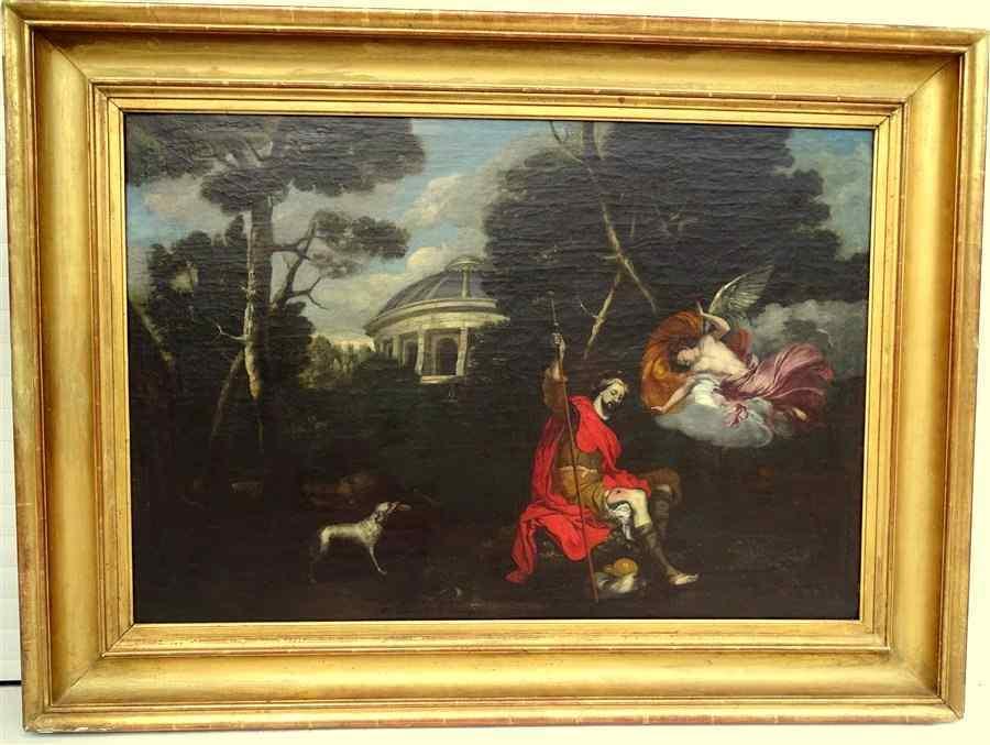 Le Dominiquin Entourage Scuola di barocco italiano di Saint