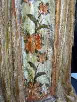 Antique important Statue of St. seventeenth Carved wood-8