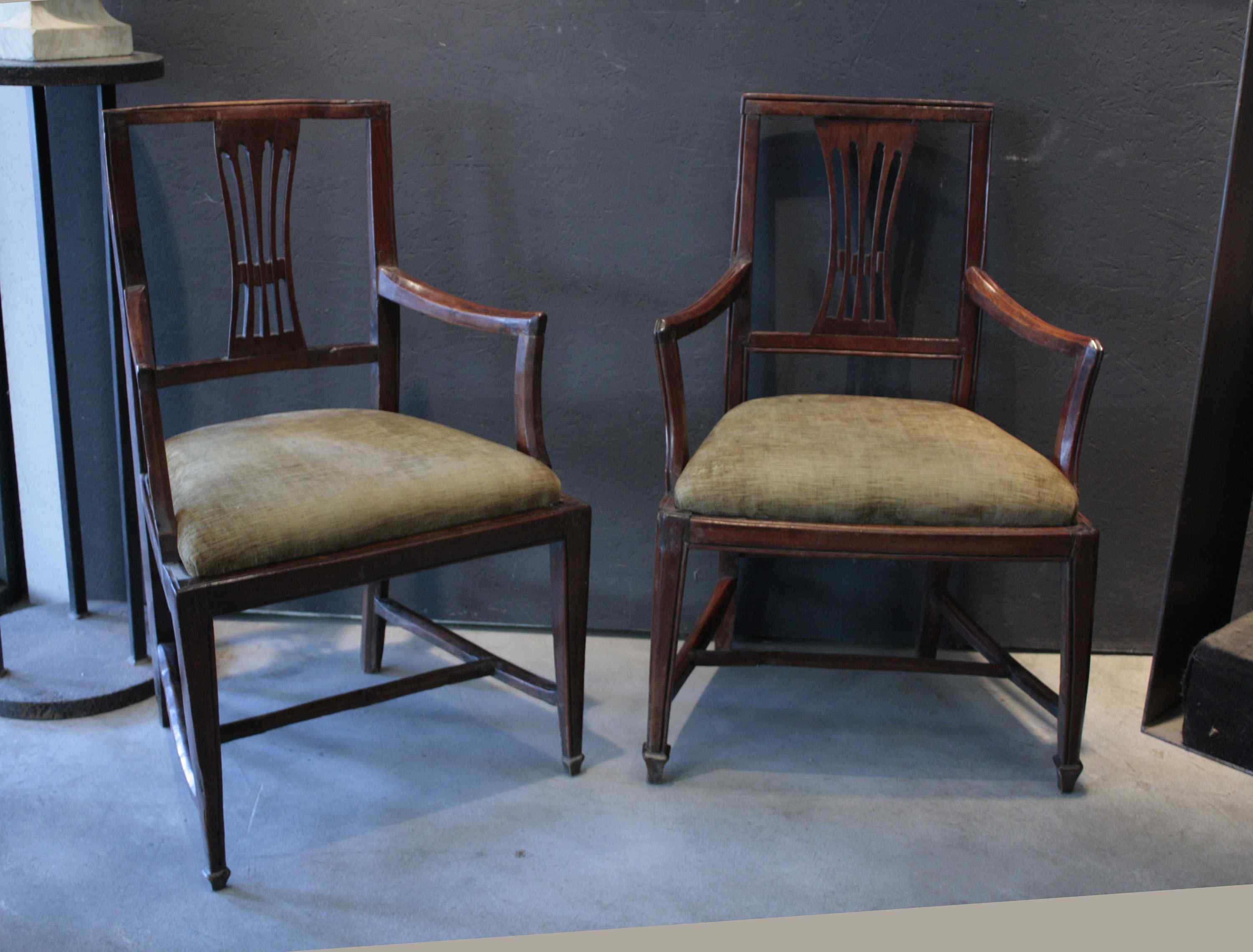 Venetian armchairs of the '700