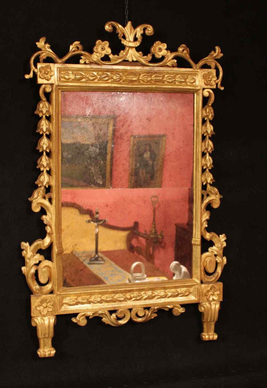 Tuscany Mirror, sec. XVIII
