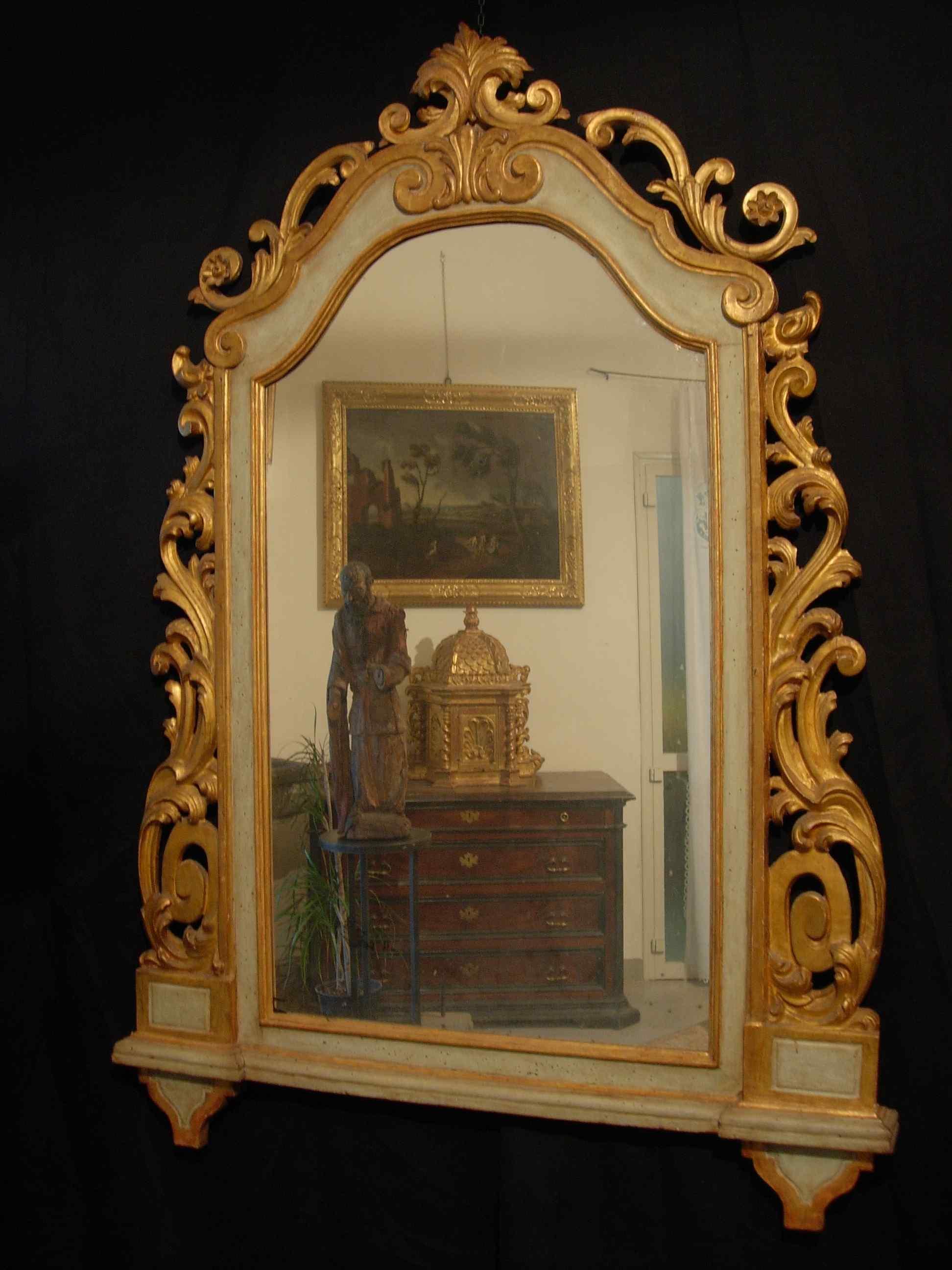 Toscane Miroir Sec. XVIII