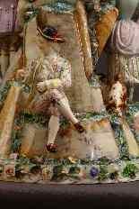 Molto importante gruppo porcellana Wallendorf Medio XVIIIè-6