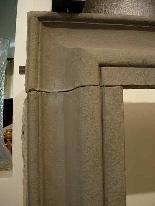 Stone fireplace. Salvator Rosa sec. XVII-2