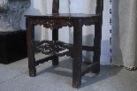 A couple of Tuscan high chairs XVI century-0