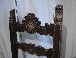 Paire de chaises hautes Toscani Sec. XVI-3