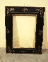 Ebony frame with golden decorations, sec. XVII-2