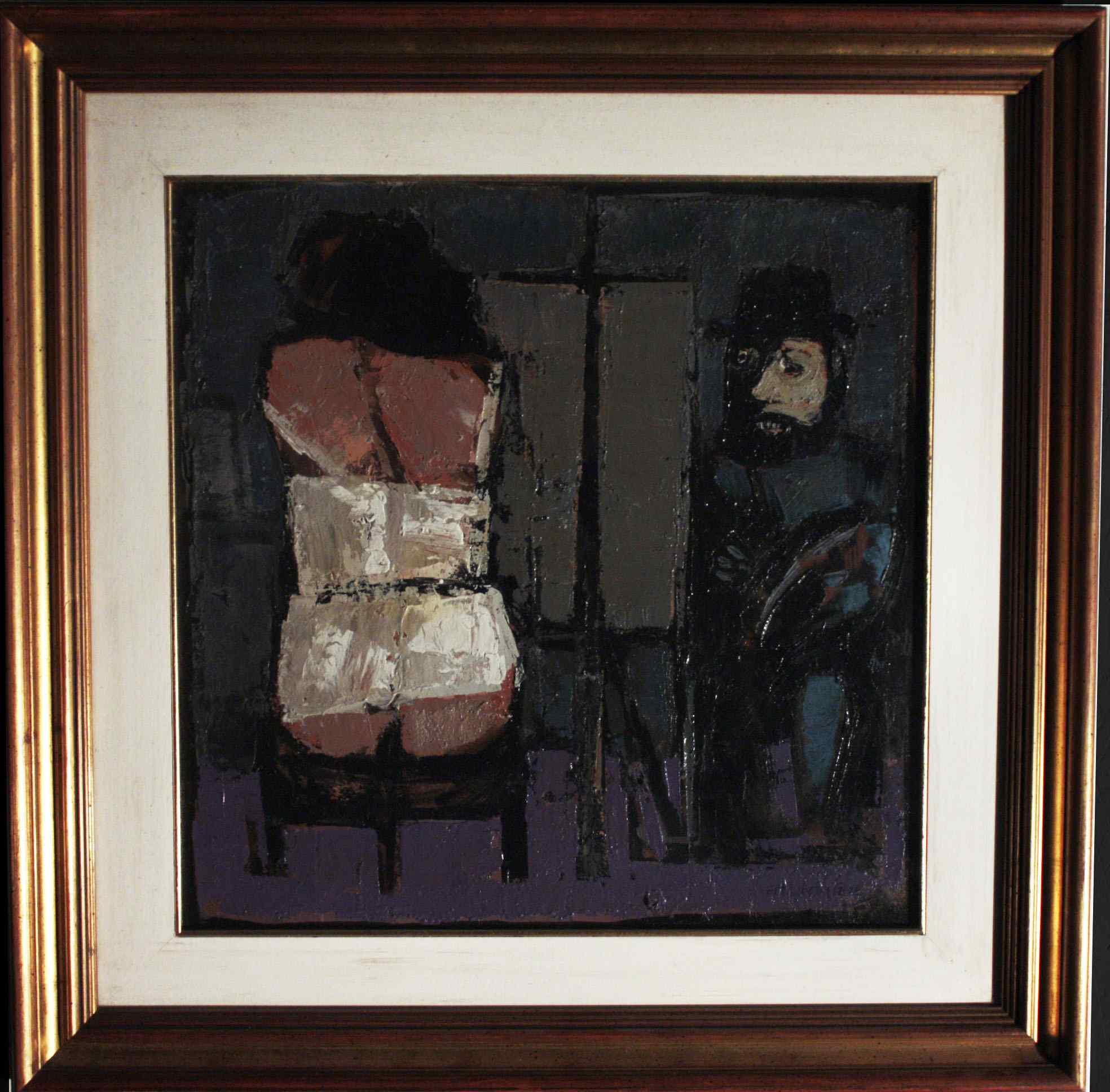 Fausto Maria Liberatore Lucca 1922 -2004 Peintre et modèle