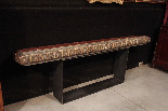 Lacquered shelf with golden friezes-2