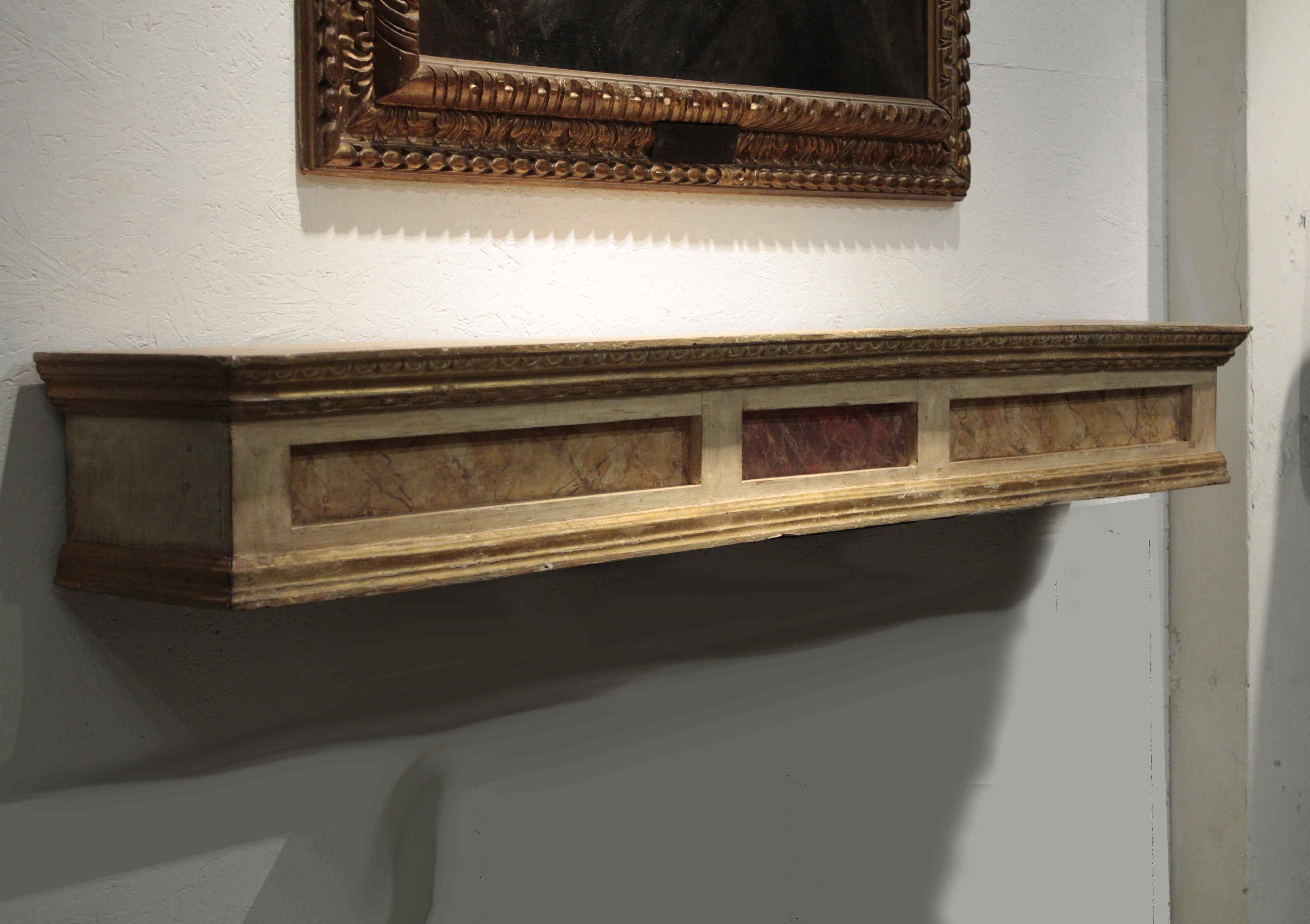 Lacquered and gilded shelf, Sec. XVIII