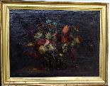 Willem van Aelst 1627-1683 rari cesti di fiori Coppia-1